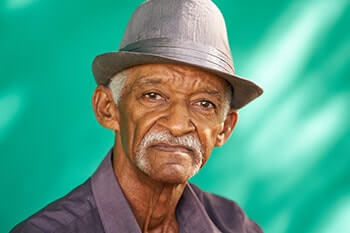 people portrait serious elderly african american PYCPTCL